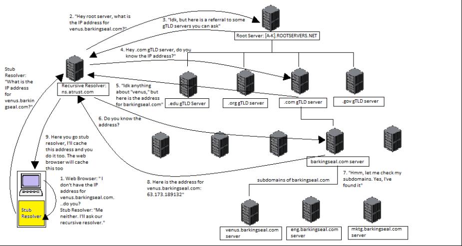 DNS example