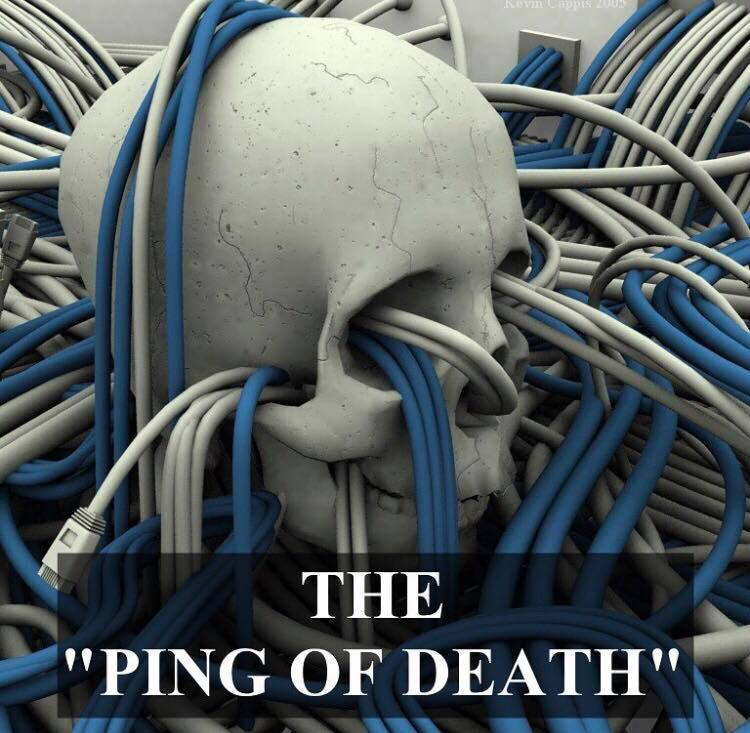The Ping of Death – The Cybersecurity Man