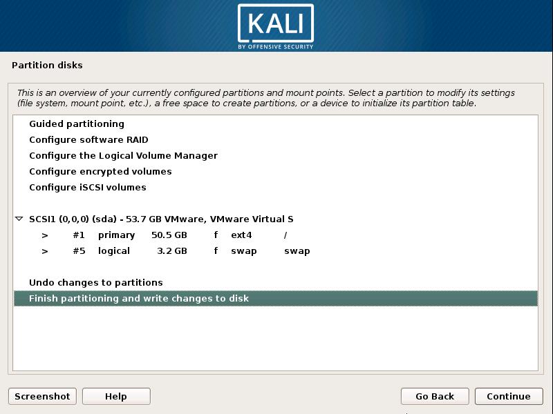 Installing Kali Linux in VMware Workstation Player (VMware