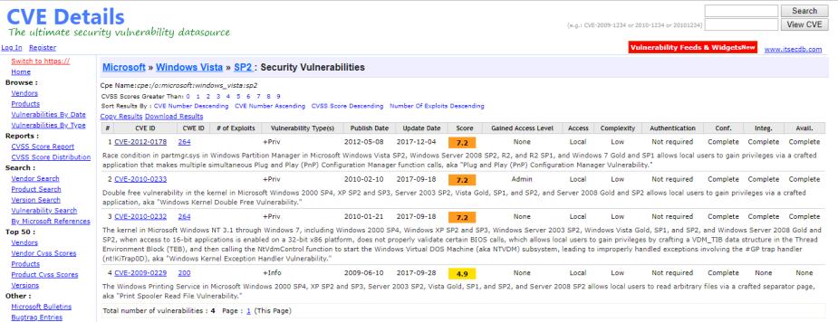 vulnerabilities 2